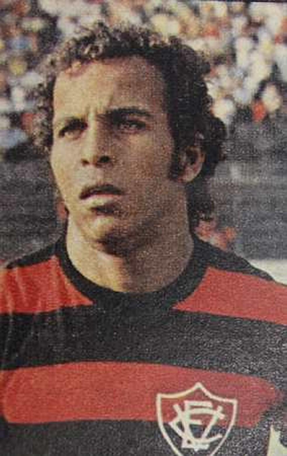 André Catimba é ídolo da torcida do Vitória — Foto: Reprodução