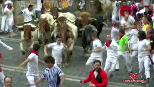 Oito pessoas ficam feridas durante corrida de touros na Espanha