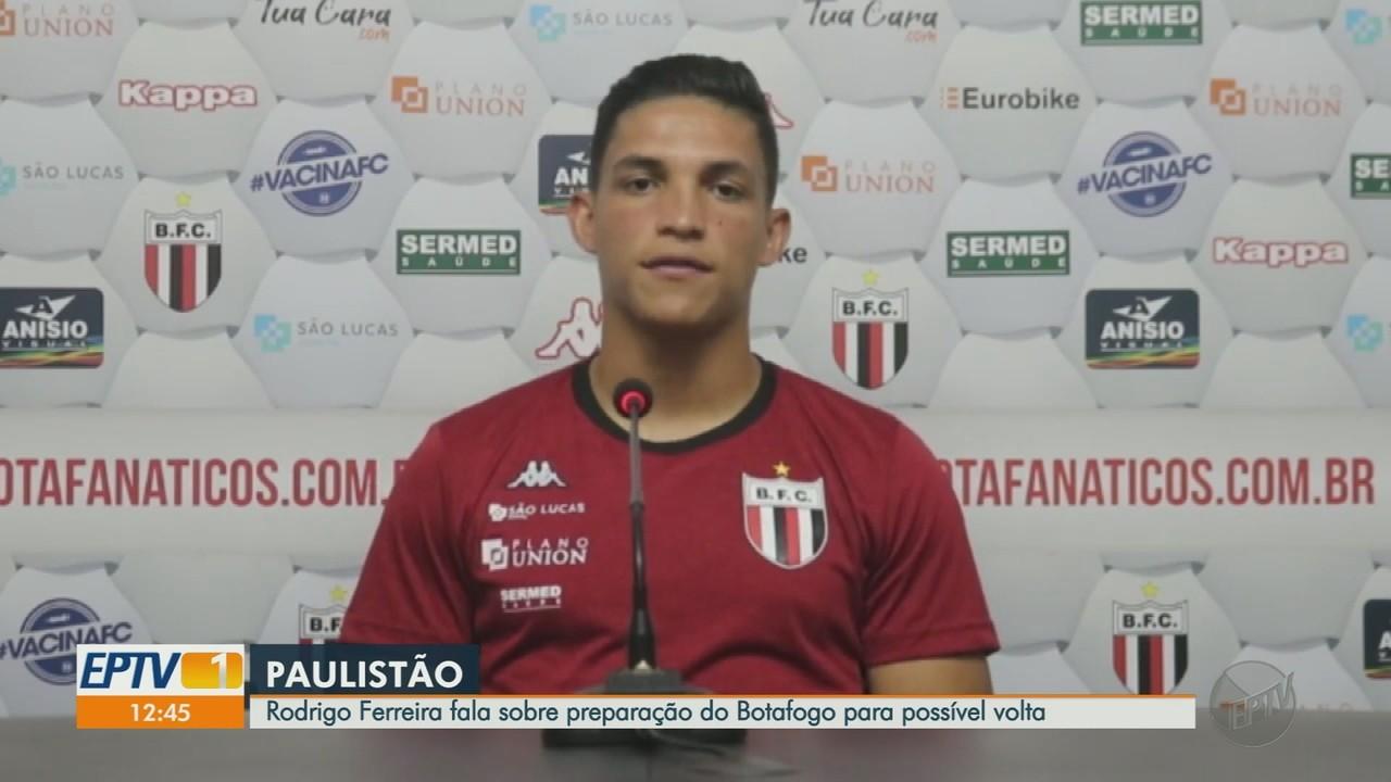 Botafogo-SP se prepara para possível volta do Campeonato Paulista