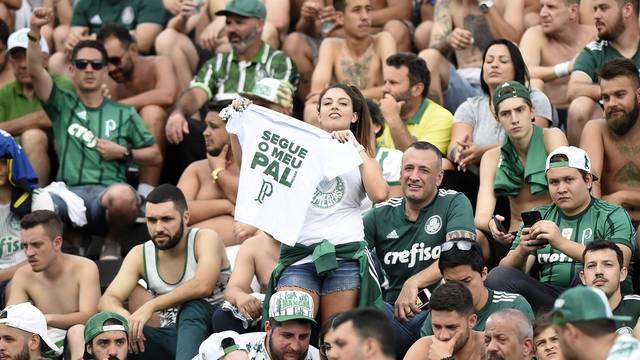 Torcida do Palmeiras em São Januário