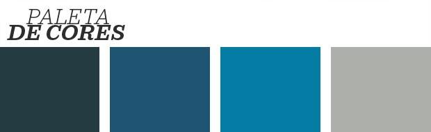 Décor do dia: sala de estar azul profundo (Foto: Reprodução)