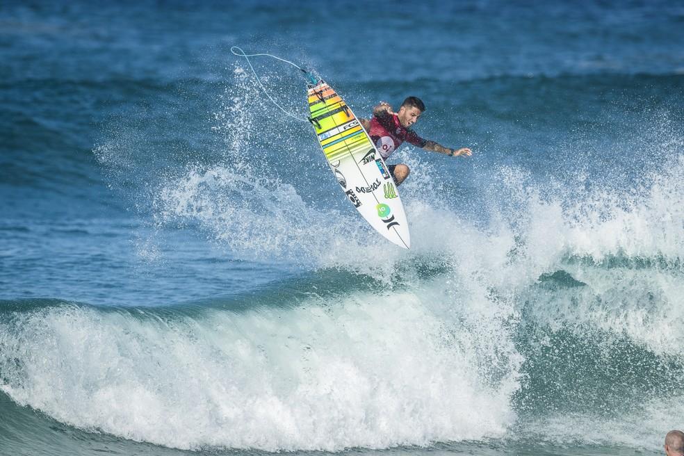 Filipe Toledo surfou demais para conquistar a etapa de Saquarema (Foto: WSL / Poullenot)