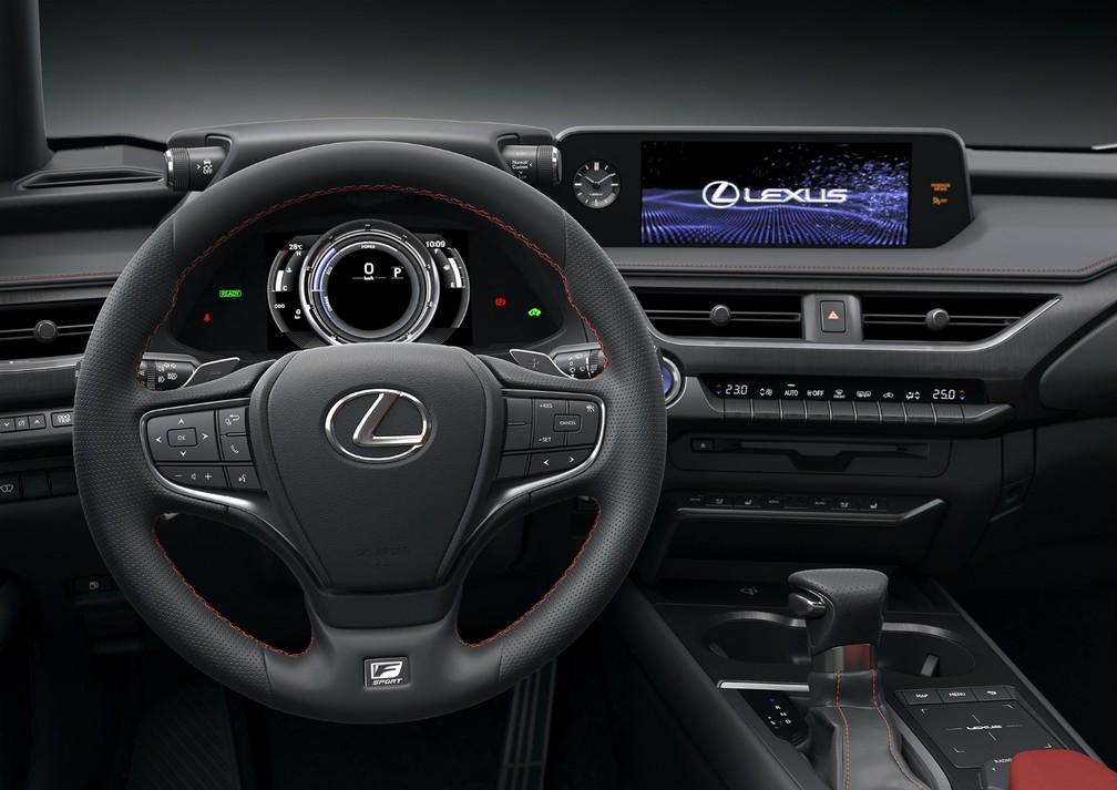 Lexus UX 250h — Foto: Divulgação/Lexus