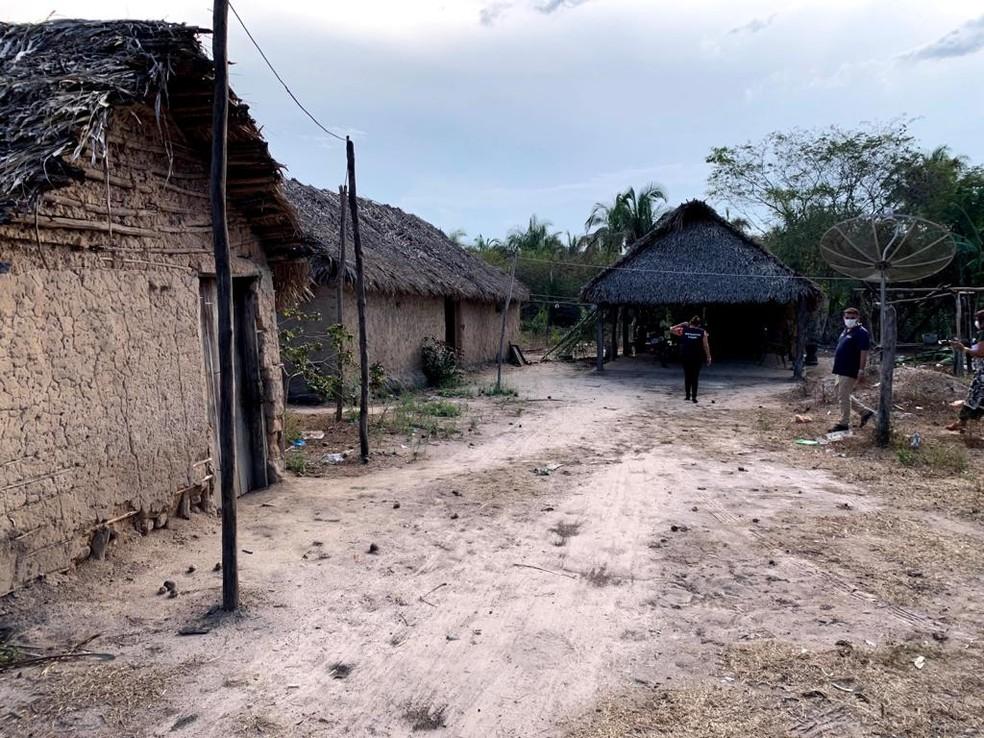 Povoado de Santa Rita, em Chapadinha — Foto: Divulgação/Governo do Maranhão