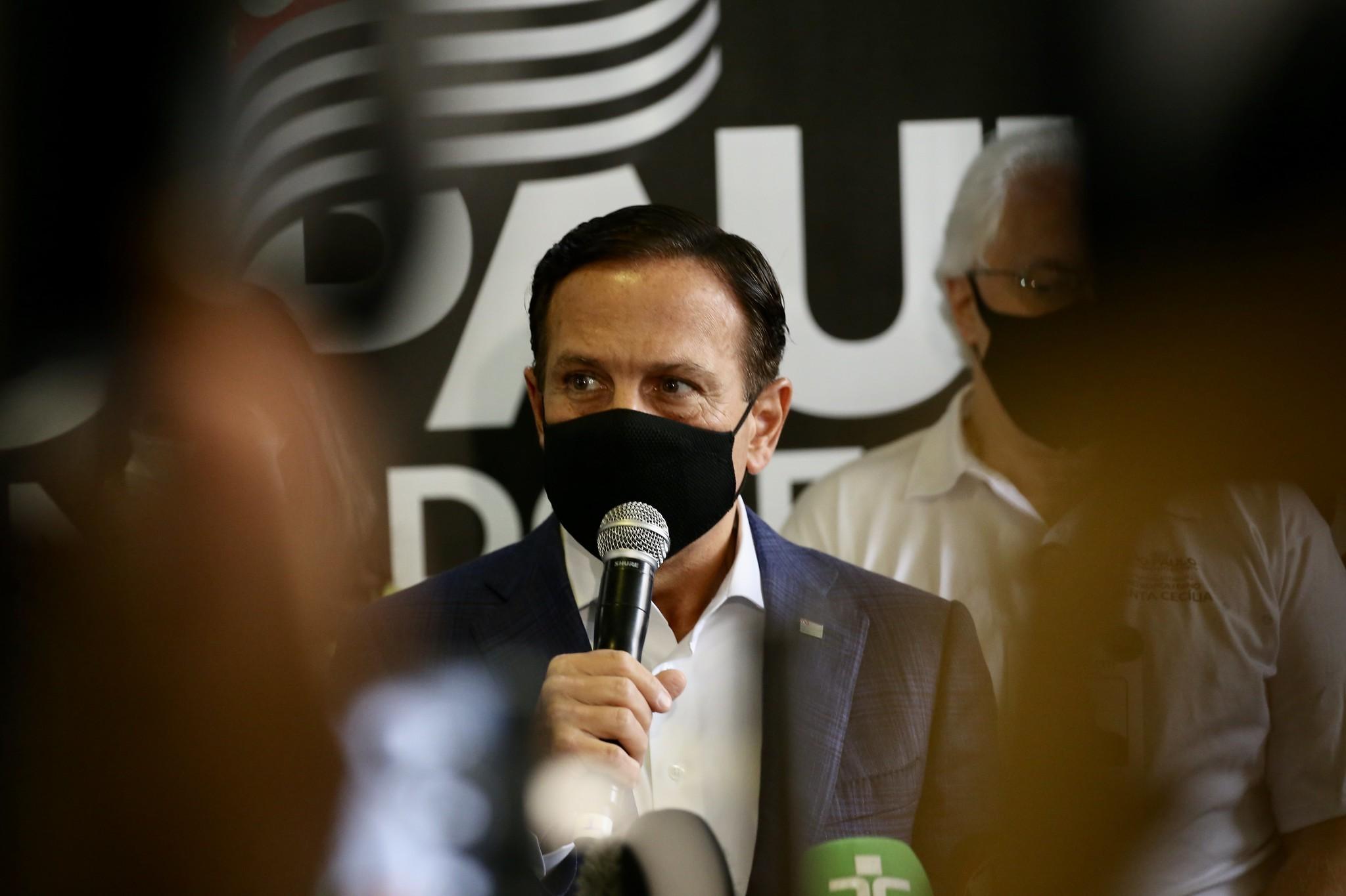 Pandemia em SP está 'sob relativo controle' e quarentena retomará regionalização, diz Doria