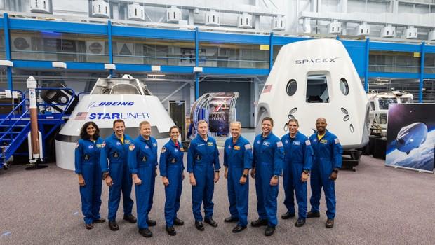 Astronautas da NASA (Foto: Divulgação)