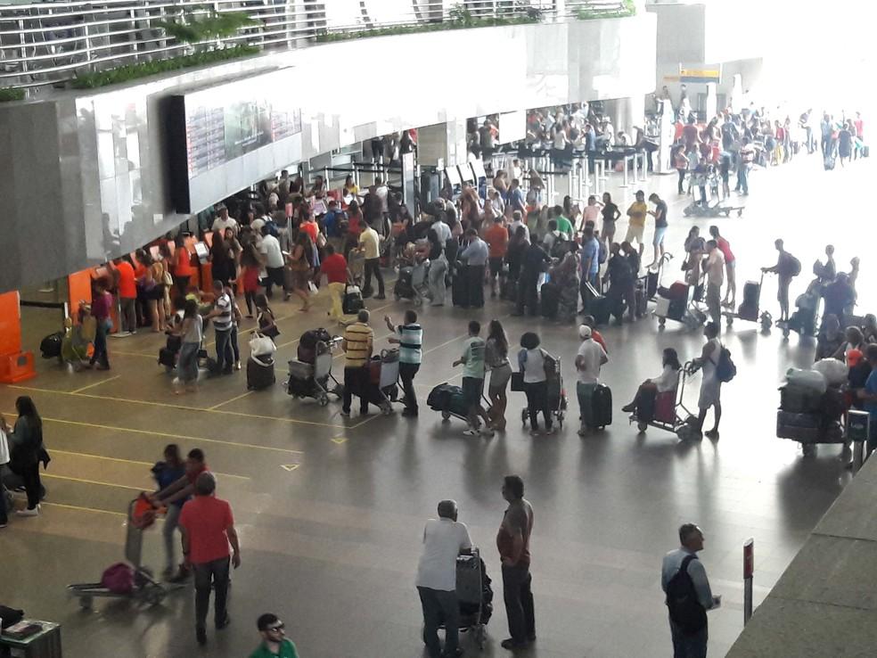 Aeroporto Pinto Martins (Foto: José Maria Melo/Agência Diário)