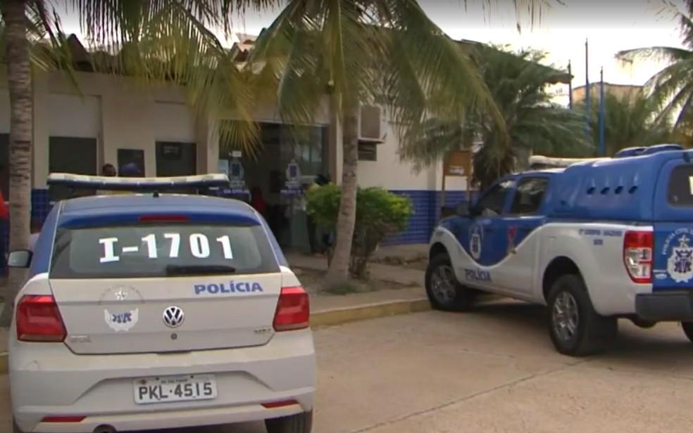 Delegacia de Juazeiro, no norte da Bahia — Foto: Reprodução/TV São Francisco