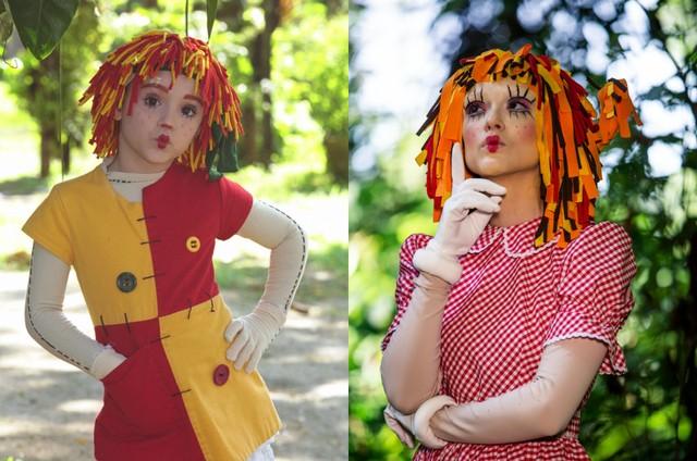Isabelle Drummond revive a Emília do 'Sítio do Picapau Amarelo' em 'Verão 90' (Foto: Globo/Fabiano Battaglin / Wania Corredo)