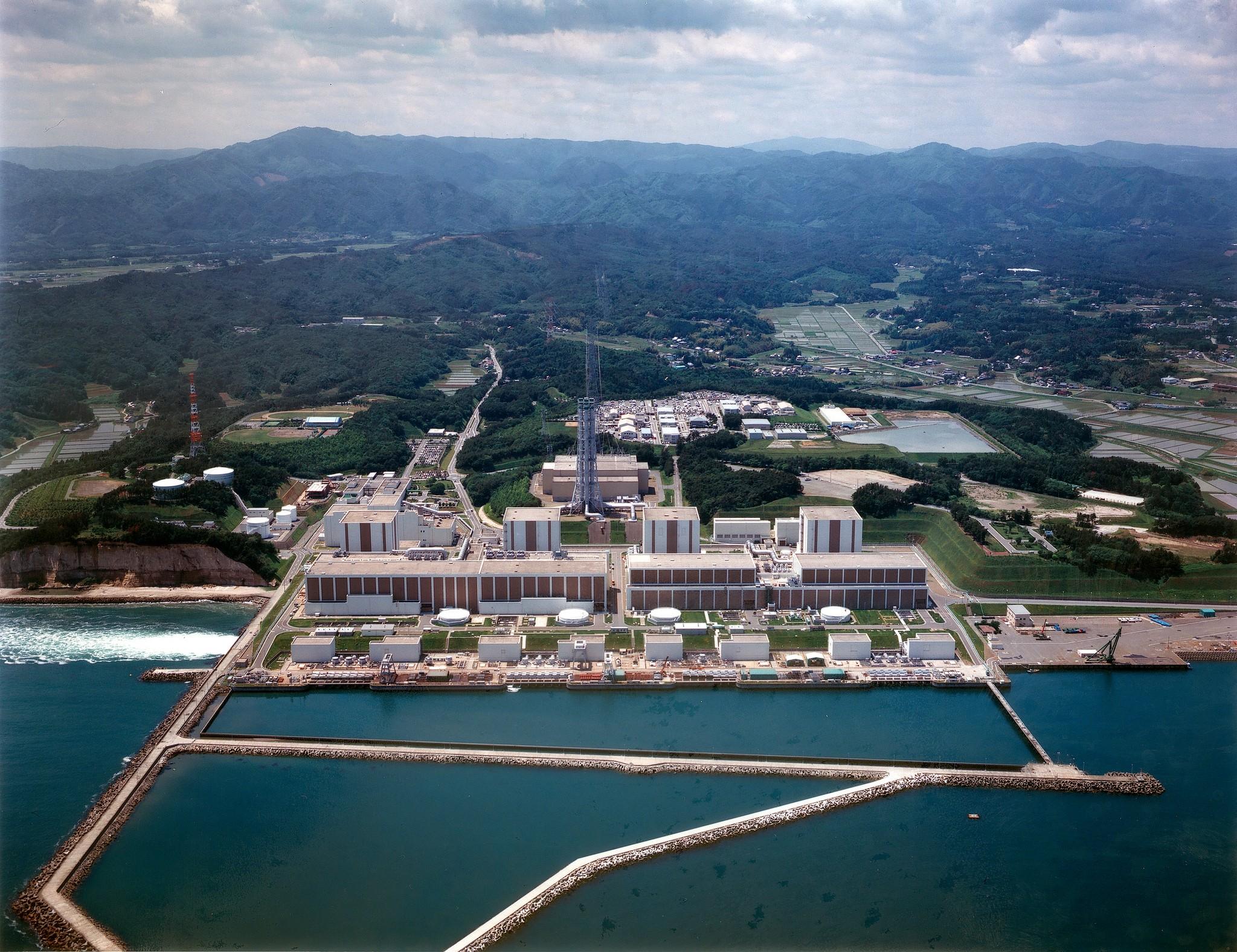Usina nuclear de Fukushima, no Japão (Foto: Tokyo Electric Power Co., TEPCO/Flickr/IAEA Imagebank/Creative Commons)