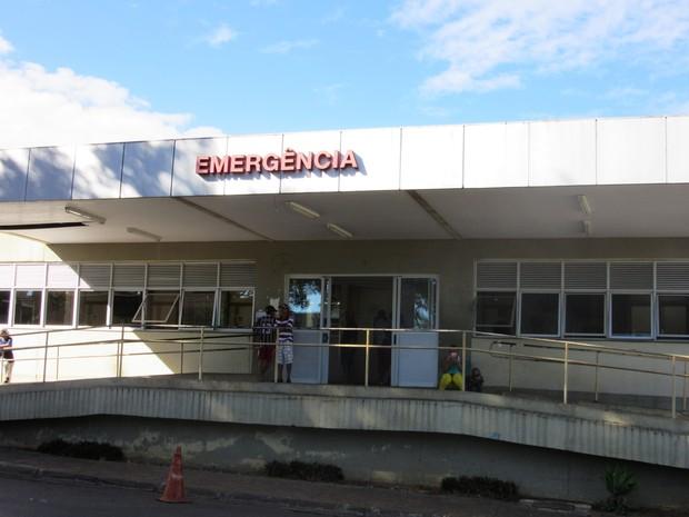 Hospital Regional de Planaltina (Foto: Isabella Calzolari/G1)