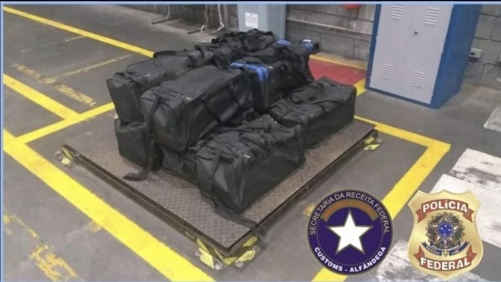 Drogas encontradas durante as investigações em Santa Catarina — Foto: Polícia Federal/Divulgação