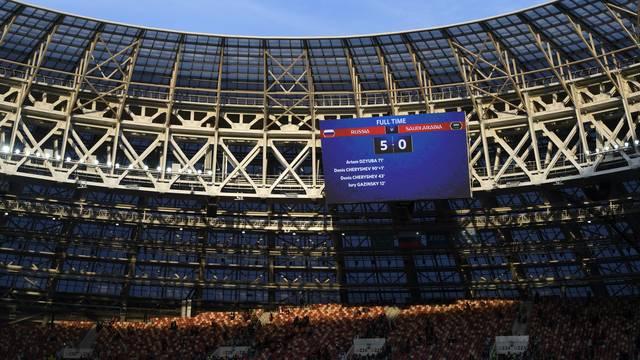 Placar está eternizado na história das Copas do Mundo