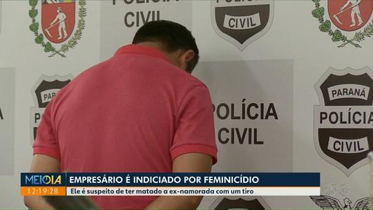 Suspeito de matar ex-namorada em Maringá é indiciado por feminicídio