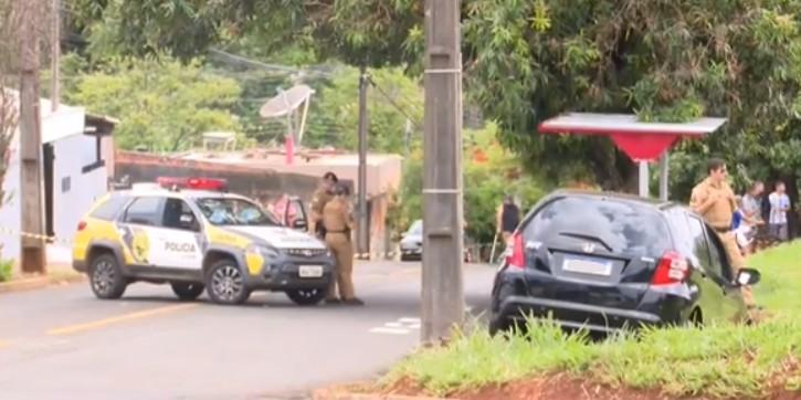 Homem é morto por policiais após troca de tiros em Londrina, diz PM