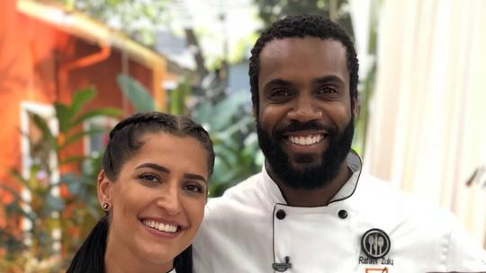 'Super Chef Celebridades': Maria Joana e Rafael Zulu vencem Prova da Imunidade