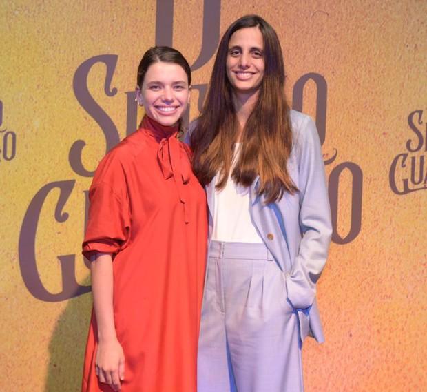 Bruna Linzmeyer e Priscila Visman (Foto: Selmy Yassuda/Ed. Globo)