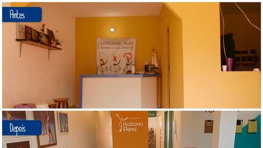 Quadro do Caldeirão transforma casa de moradora de Fortaleza com história inspiradora