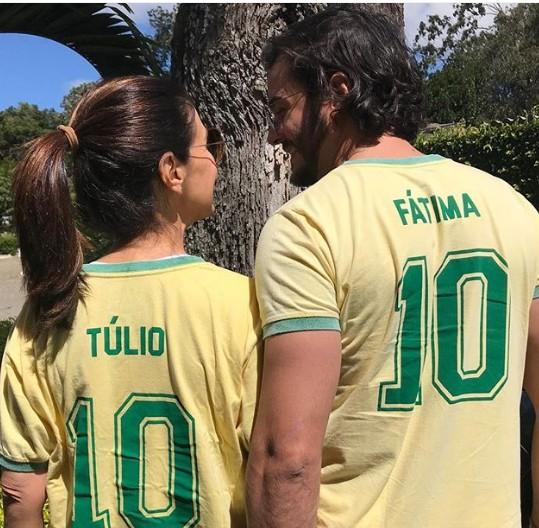 Fátima Bernarde e Túlio Gadelha (Foto: Reprodução)