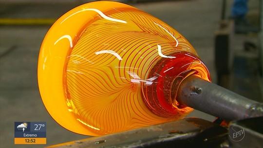 Ligação entre Murano e Poços de Caldas valoriza produção do vidro