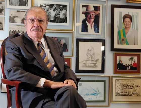 José Sarney (Foto: ANDRE DUSEK/ESTADÃO CONTEÚDO)