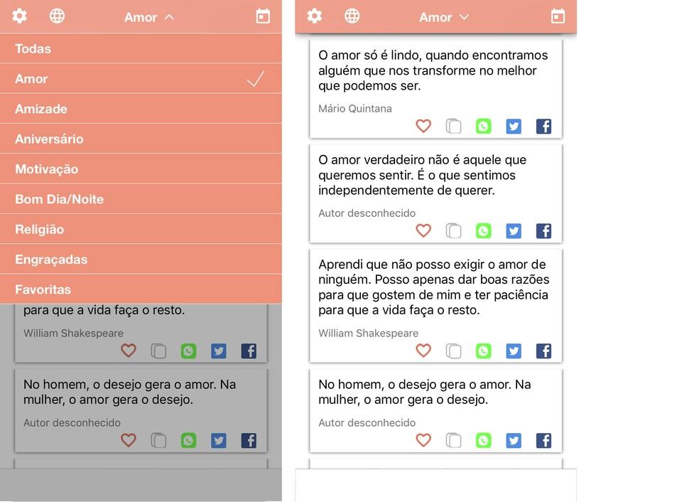 Aplicativo De Frases Lista Traz Apps Com Mensagens Bonitas