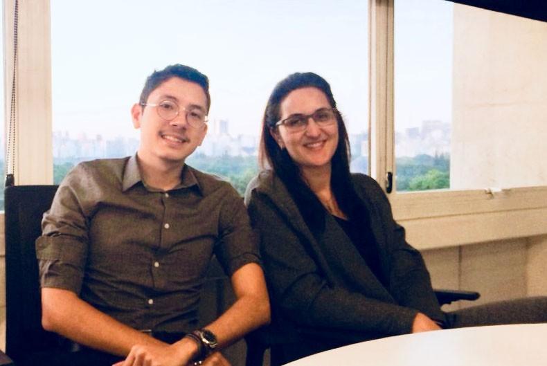 Vitor Kawamura e Ana Paula Wey Perez, sócios da butique financeira WP Capital (Foto: Divulgação/WP Capital)