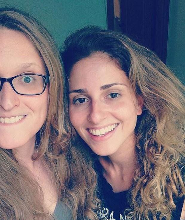 Aline e Carol (Foto: Reprodução/Instagram)