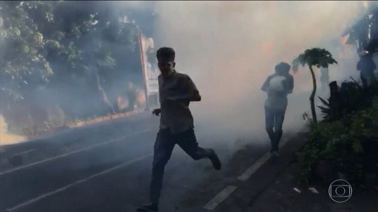 Protestos após reeleição de presidente deixam seis mortos na Indonésia