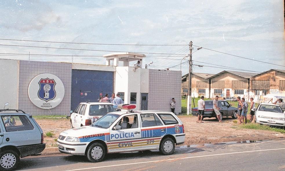 Roubo milionário ocorreu em Caucaia, na Grande Fortaleza, em 2000 — Foto: L.C. Moreira