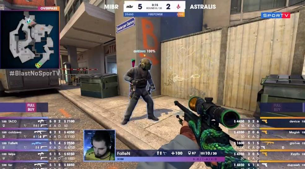 CS:GO - Blast Pro Series Miami  — Foto: reprodução