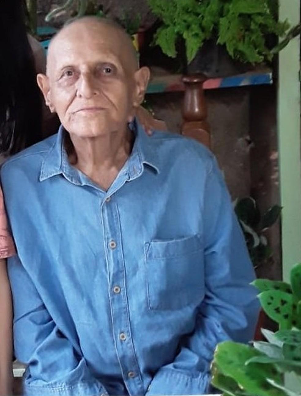Alicio Antônio Leite, de 86 anos — Foto: Arquivo Pessoal