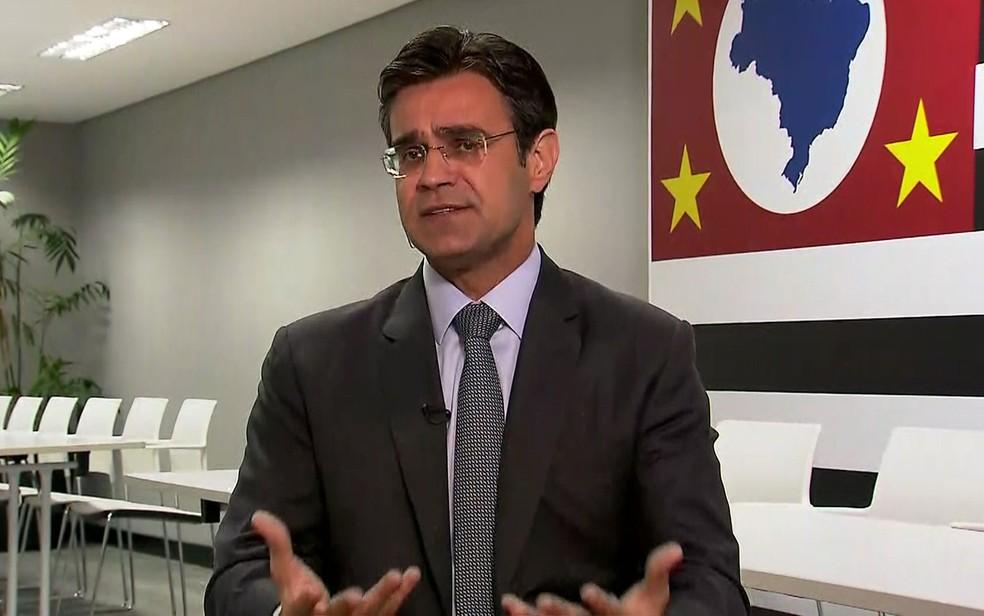 Rodrigo Garcia, vice-governador eleito, será secretário de Governo — Foto: GloboNews/Reprodução