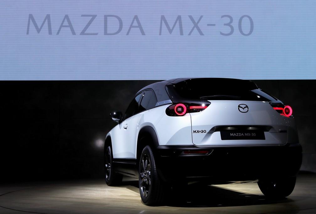 Mazda MX-30 — Foto: Soe Zeya Tun/Reuters
