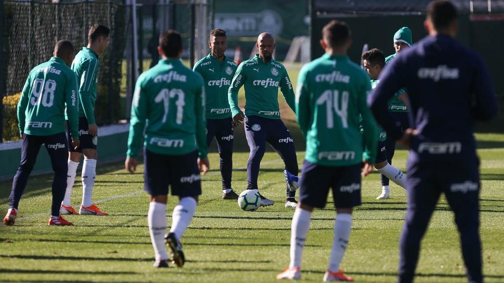 Palmeiras enfrenta o São Paulo no próximo sábado, pelo Brasileirão — Foto: Cesar Greco/Palmeiras