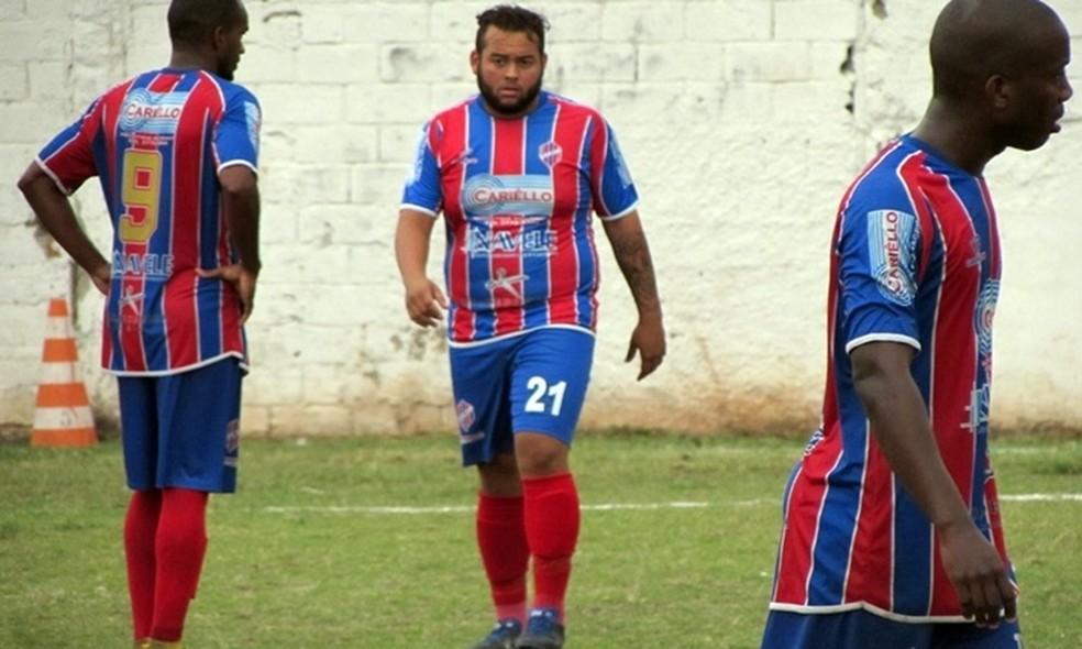 Yan chamou atenção na quarta divisão do RJ (Foto: Futrio.net)