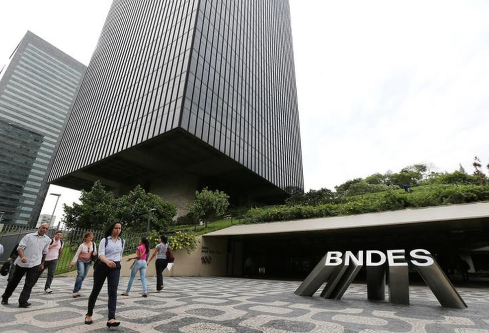 Sede do BNDES no centro do Rio de Janeiro. — Foto: REUTERS/Sergio Moraes
