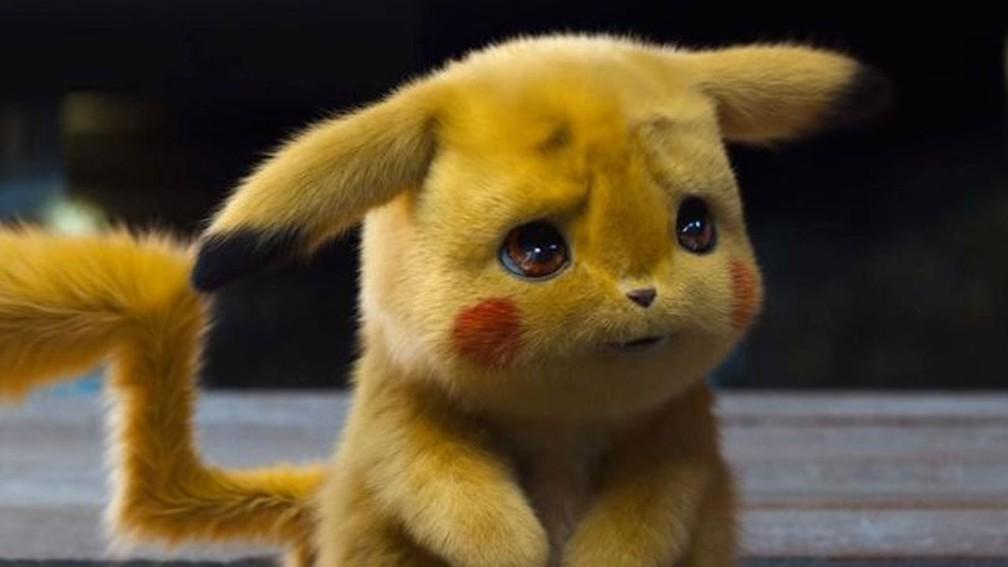 Cena do filme 'Detetive Pikachu' — Foto: Divulgação