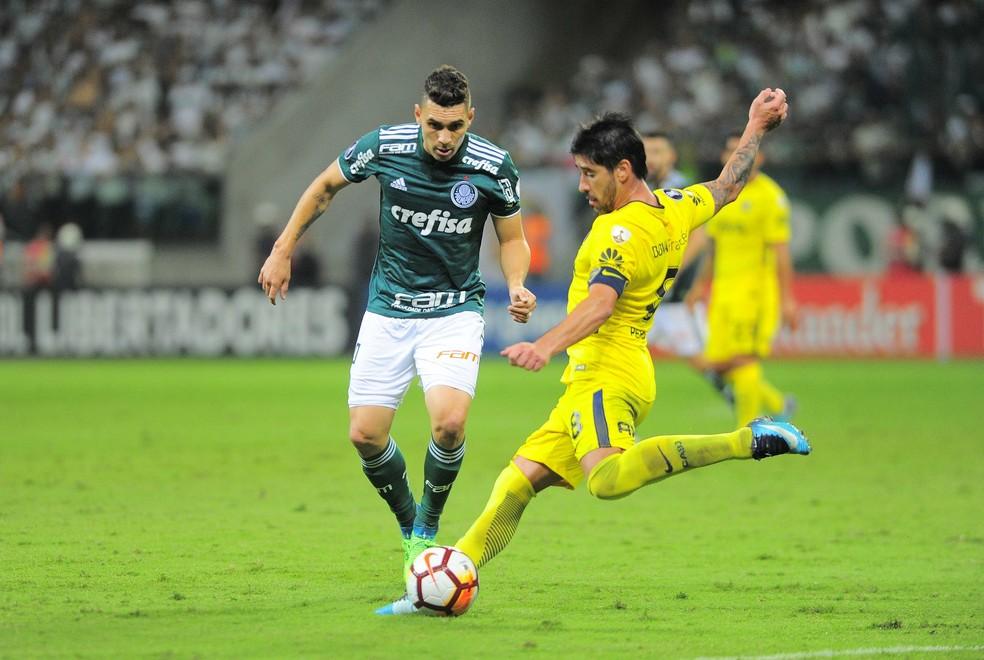 Palmeiras e Boca se enfrentaram na primeira fase: chance de reedição (Foto: Marcos Ribolli)