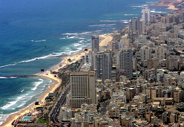 Tel Aviv, em Israel (Foto: Joe Raedle/Getty Images)