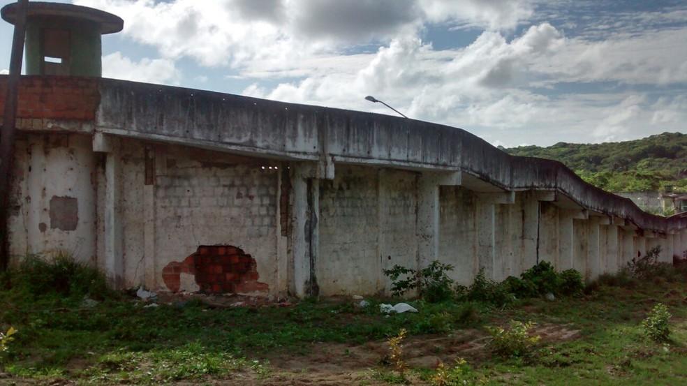 Homem participou de fuga em massa de detentos na Penitenciária Barreto Campelo em 2016 — Foto: Camila Torres/TV Globo