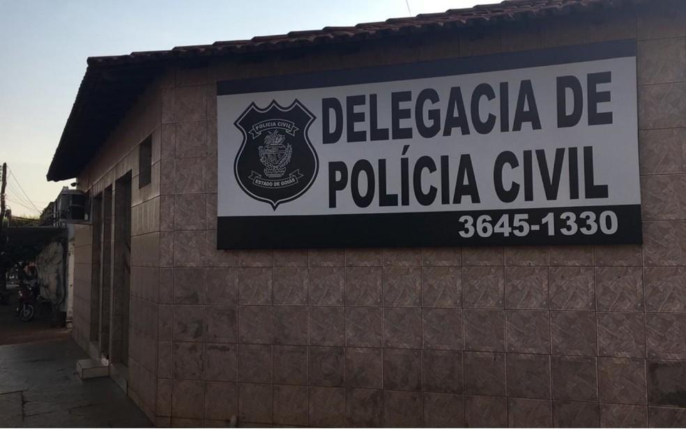 Casos são investigados na delegacia de Acreúna — Foto: Divulgação/Polícia Civil