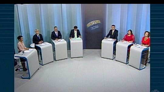 Candidatos participam de debate para prefeitura de Belém na TV Liberal