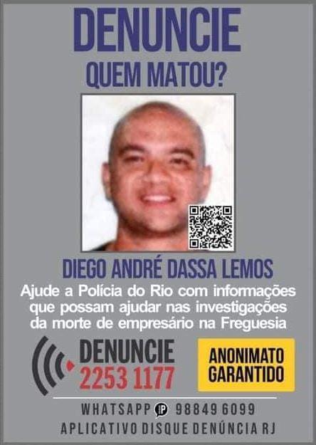 Disque Denúncia pede informações sobre homem morto enquanto passeava com o cachorro
