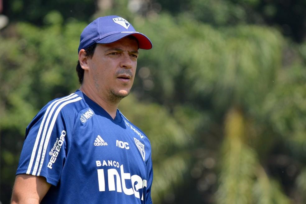 Fernando Diniz São Paulo — Foto: Érico Leonan / saopaulofc.net