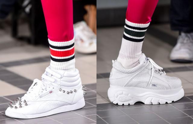 Sneakers dominam passarelas da PFW (Foto: Reprodução/Instagram e ImaxTree )