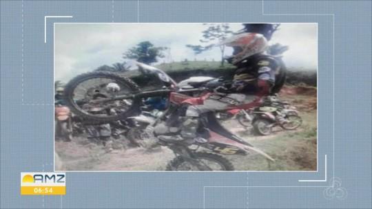 Piloto morre após sofrer acidente durante enduro realizado em distrito de Porto Velho