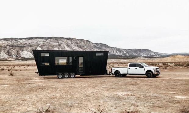 Tiny House nos EUA (Foto: Divulgação / Land Ark RV )