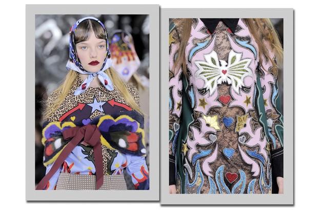 Tendência Borboletas - London Fashion Week (Foto: IMax Tree)