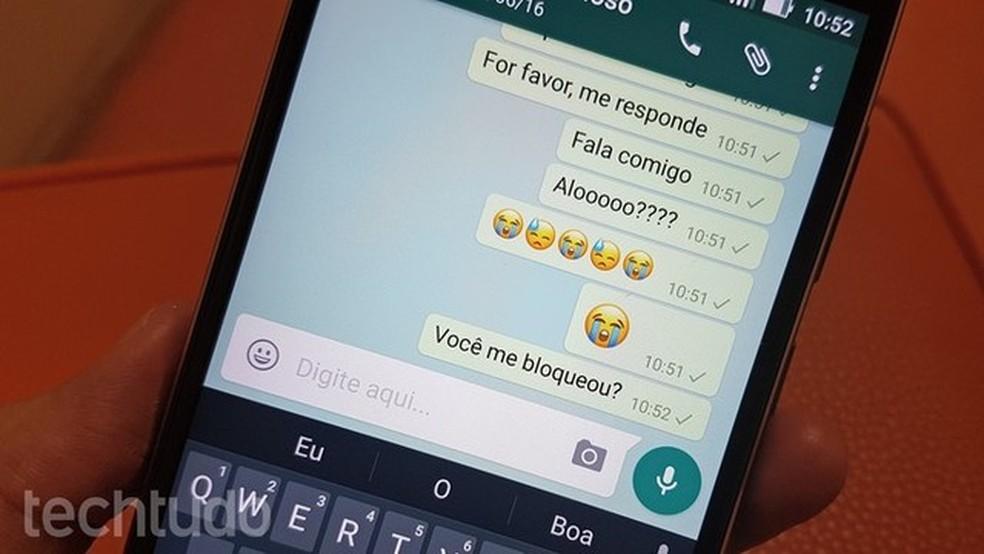 WhatsApp é o app mais protegido por senha do Brasil (Foto: Thássius Veloso/TechTudo)